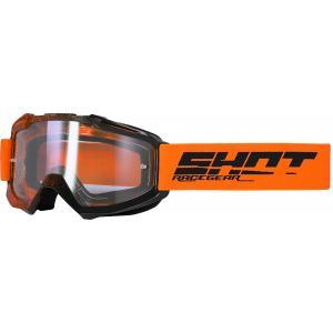 Gogle Shot Assault Elite czarno-pomarańczowe
