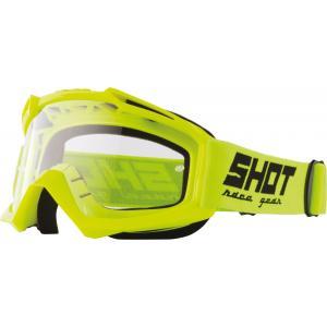 Gogle Shot Assault Solid fluo żółte