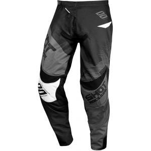 Motocrossowe spodnie Shot Contact Trust czarno-szare