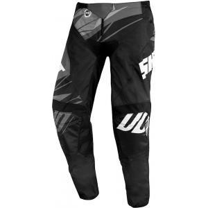 Motocrossowe spodnie Shot Devo Ventury czarno-biało-szare