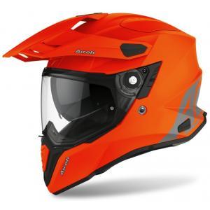 Enduro kask Airoh Commander Color pomarańczowy wyprzedaż
