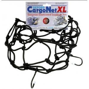 Pružná zavazadlová síť pro motocykly Oxford XL 38x38 cm