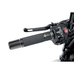 Grips PUIG RACING 5879C carbon look 119mm