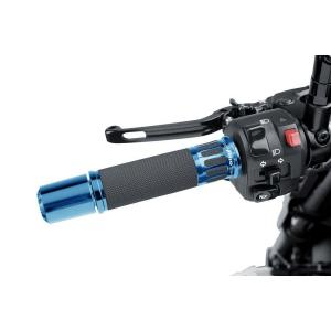 Grips PUIG RACING 5879A blue 119mm