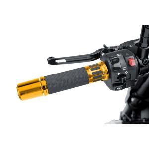 Grips PUIG RACING 5879O gold 119mm