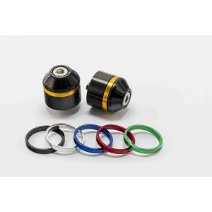 Bar ends PUIG SHORT WITH RING 8074N colour rings included