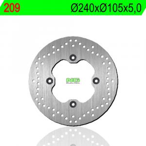 Brake disc NG 209