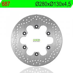 Brake disc NG 687