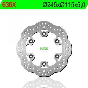 Brake disc NG 636X