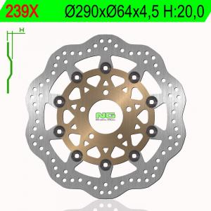Brake disc NG 239X