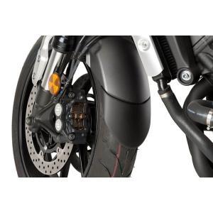 Front fender extension PUIG 9819N black