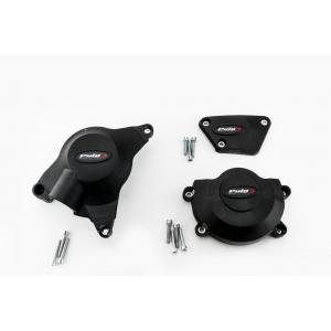 Engine protective covers PUIG 20129N black included right, left and alternator caps