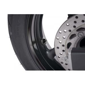 Valves for tubeless wheels PUIG 8100N black D 8,3mm