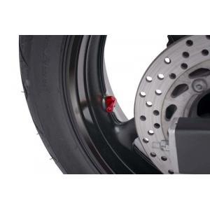 Valves for tubeless wheels PUIG 8100R red D 8,3mm