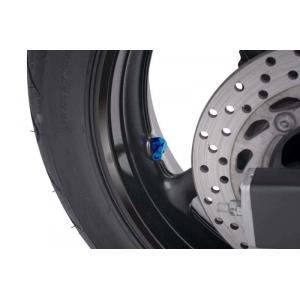 Valves for tubeless wheels PUIG 8100A blue D 8,3mm