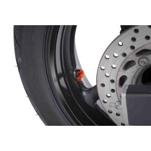 Valves for tubeless wheels PUIG 8100T orange D 8,3mm