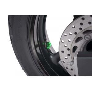 Valves for tubeless wheels PUIG 5591V green D 11mm