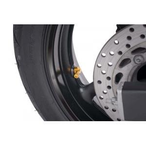 Valves for tubeless wheels PUIG 8100G yellow D 8,3mm