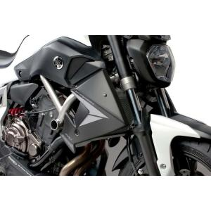 Radiator side panels PUIG 7561C carbon look stickers included