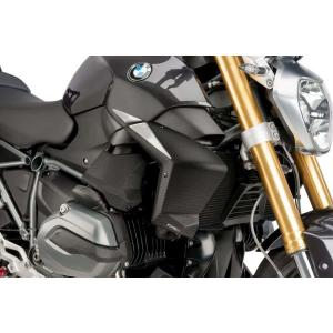 Radiator side panels PUIG 7694C carbon look stickers included
