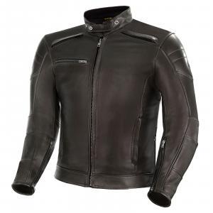 Skórzana kurtka motocyklowa Shima Blake brązowa wyprzedaż