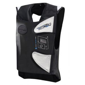 Elektroniczna kamizelka z poduszką powietrzną HELITE e-GP Air czarno-biała
