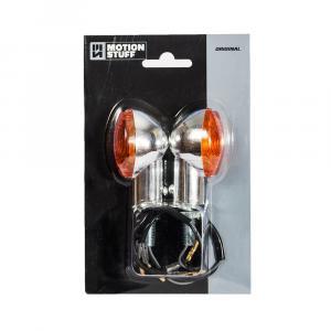 Bulb flasher lights MOTION STUFF chrome