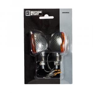 Bulb flasher lights MOTION STUFF carbon short stem
