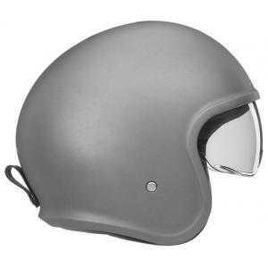 Otwarty kask motocyklowy NOX PREMIUM Next srebrny matowy wyprzedaż