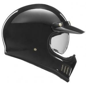 Kask motocyklowy NOX PREMIUM Seventy czarny