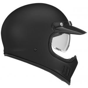 Kask motocyklowy NOX PREMIUM Seventy czarny matowy