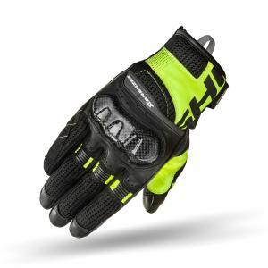 Rękawice motocyklowe Shima X-Breeze 2 czarno-fluo żółte