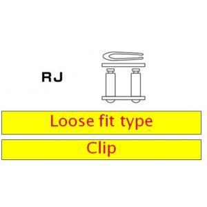 Clip type connecting link D.I.D Chain 420NZ3 SDH RJ Gold/Black