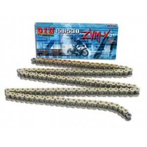 ZVM-X series X-Ring chain D.I.D Chain 530ZVM-X 118 L Gold/Gold