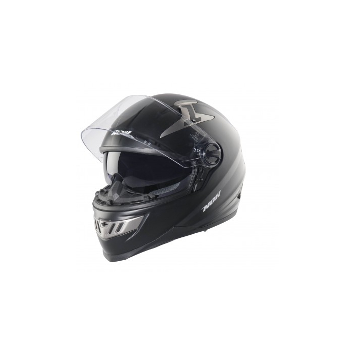Integralny kask na motocyklu NOX N 101 czarny