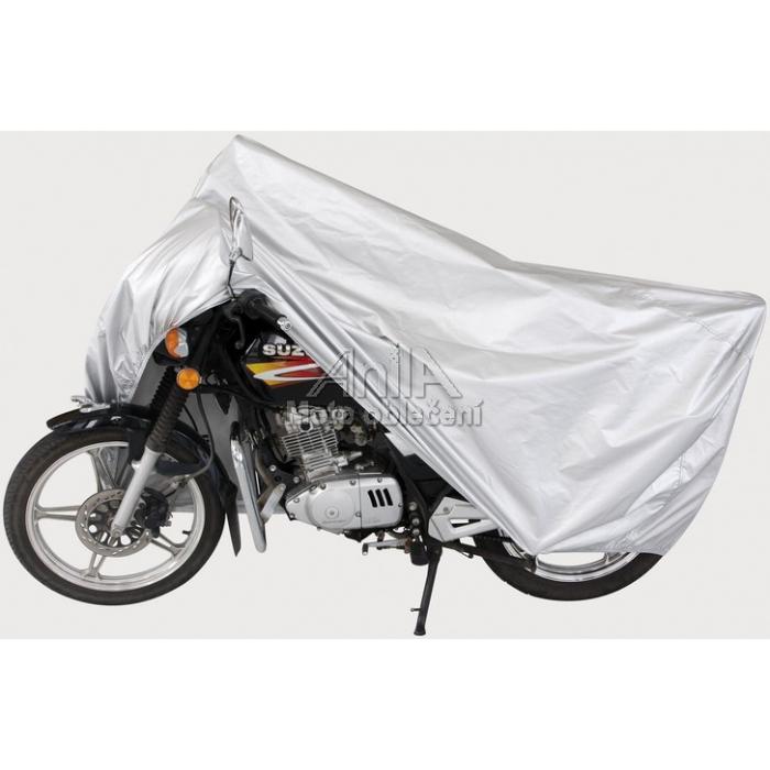 Pokrowiec motocyklowy srebrny