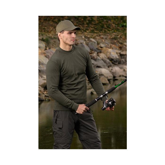 Męska koszula z długimi rękawami KLIMATEX-Alg. - Vel L