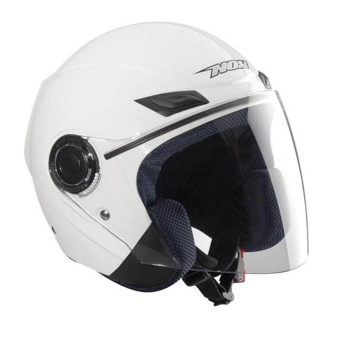 Kask motocyklowy NOX N630-Biały