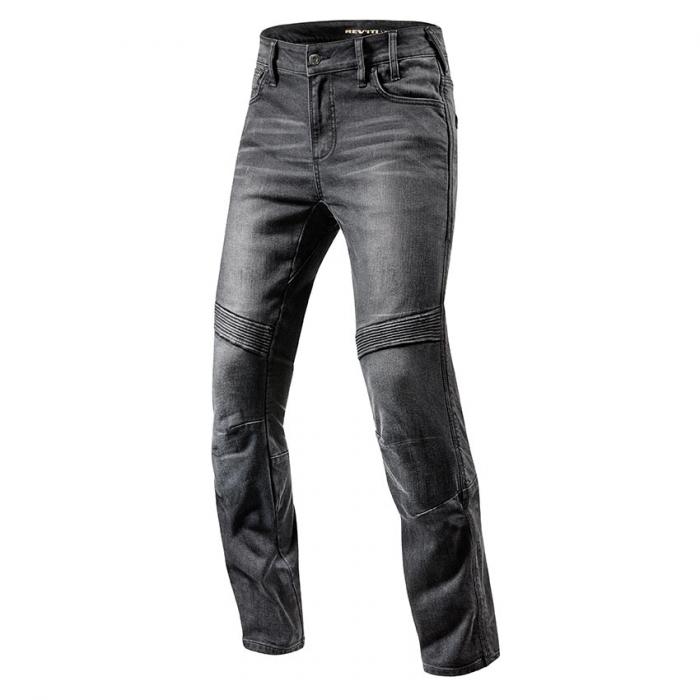 Jeansy motocyklowe Revit Moto TF czarne skrócone wyprzedaż