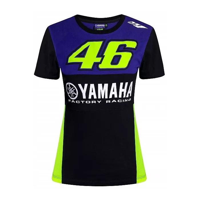 Koszulka damska VR46 Valentino Rossi Yamaha