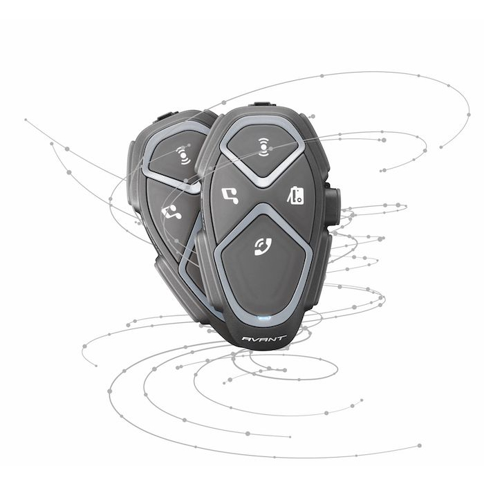 Bluetooth handsfree CellularLine Interphone Avant - Twin Pack