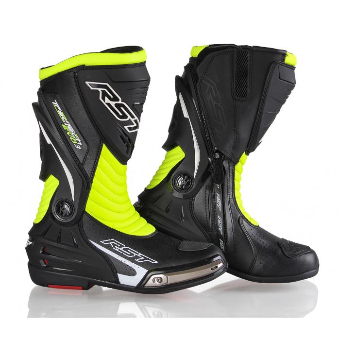 Buty motocyklowe RST Tractech Evo 3 Sport czarno-fluo żółte wyprzedaż