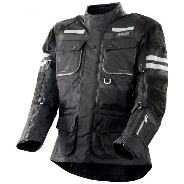 Kurtka motocyklowa iXS Montevideo-ST-LT czarna