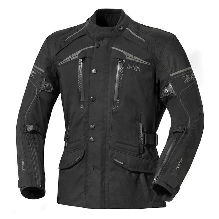 Kurtka motocyklowa iXS Montgomery czarna
