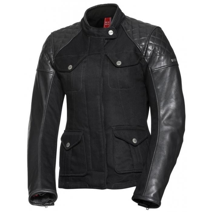 Damska kurtka motocyklowa iXS Jenny czarna