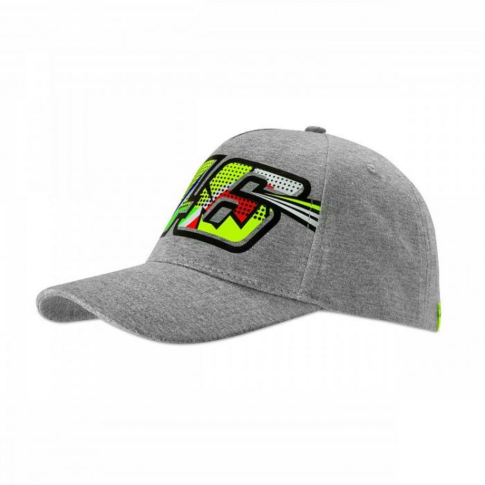 Damska czapka z daszkiem VR46 Valentino Rossi szara
