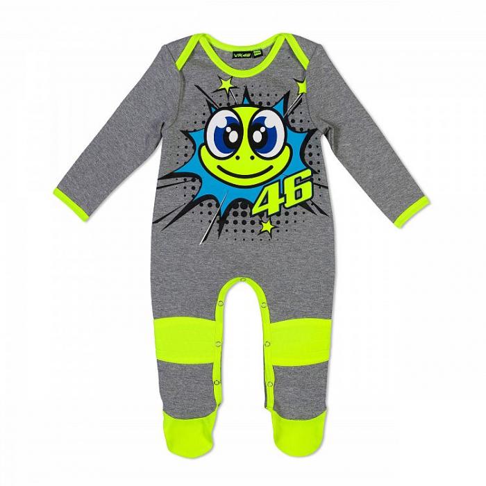 Pajacyk niemowlęcy VR46 Valentino Rossi szary
