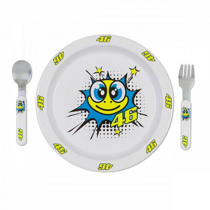 Zestaw do jedzenia dla dzieci VR46 Valentino Rossi żółw