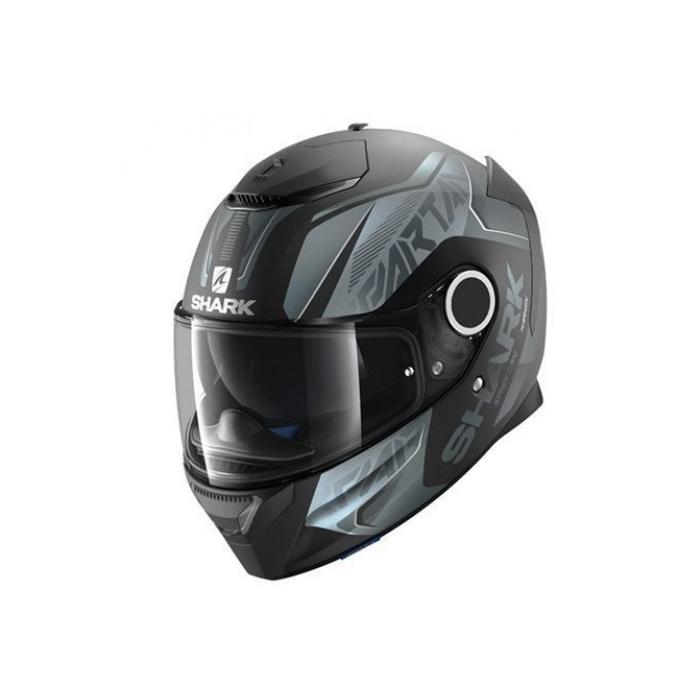 Integralny kask motocyklowy SHARK SPARTAN Karken Mat czarno-szary