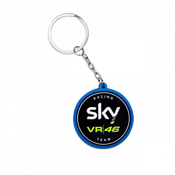 Brelok VR46 Valentino Rossi SKY RACING TEAM niebieski